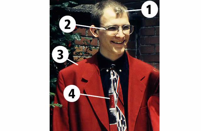 Fab : look des années 90 + cravate foireuse