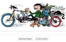 M'enfin ! Gaston Lagaffe est à l'honneur sur Google pour son 57ème anniversaire