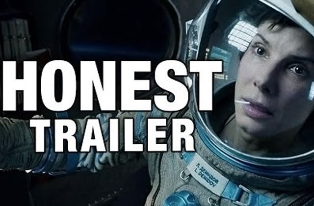 Gravity : le trailer honnête beaucoup trop drôle