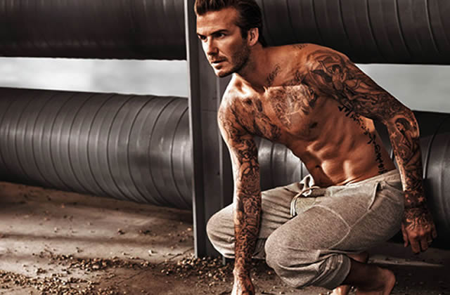 David Beckham renfile son boxer pour la nouvelle pub H&M