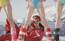 Le Palmashow sort « Les monos de ski », la chanson de l'hiver