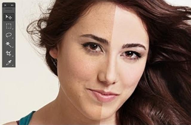 Des femmes réagissent à leur image photoshoppée