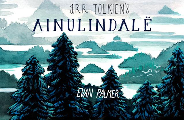 Ainulindalë: le Silmarillion à l'aquarelle d'Evan Palmer