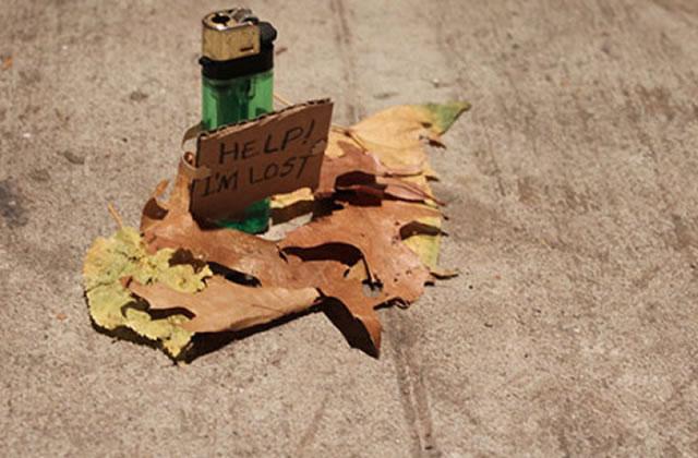 « The little lost project » donne vie aux objets perdus dans la rue