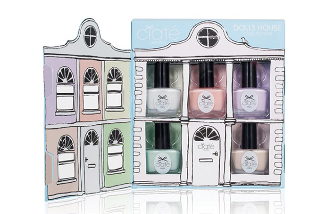 Ciaté sort « Doll House », une collection de mini-vernis pastel