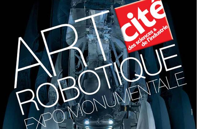 L'art robotique s'expose à la Cité des Sciences !