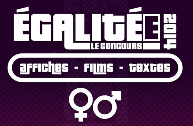 Concours ÉgalitéE 2014 : les récompensées !