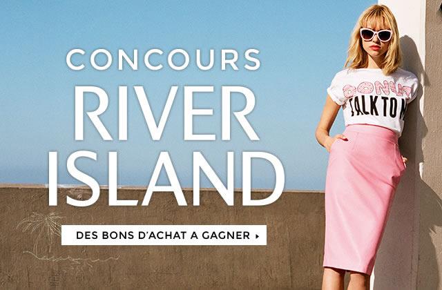 Concours River Island — 750€ en bons d'achat à gagner !