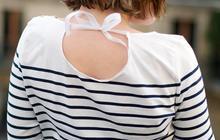 DIY — La marinière façon «goutte dans le dos »