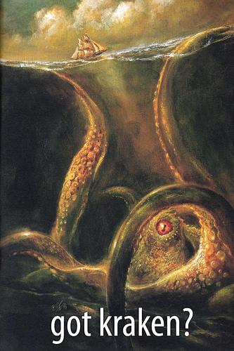 monstres marins kraken
