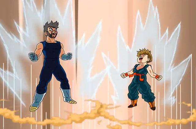 Un papa super saiyan crée un épisode Dragon Ball pour l'anniversaire de son fils