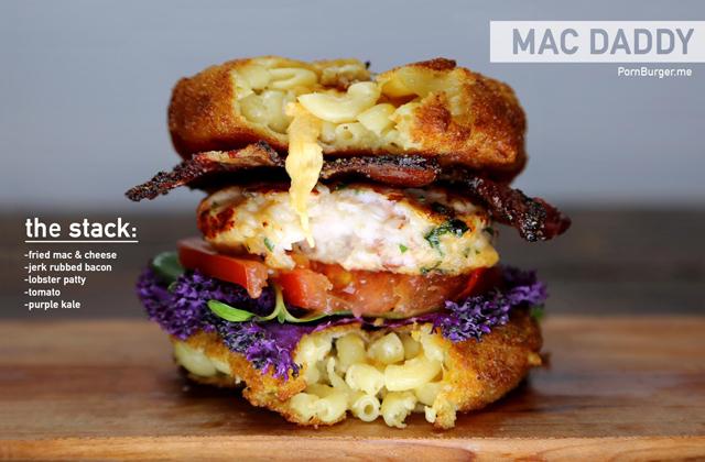 Porn Burger, le site pour les amateurs de burgers (qui ont faim)