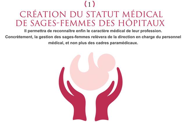 Les sages-femmes obtiendront un statut médical à l'hôpital