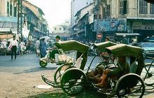Carte postale d'Ho Chi Minh Ville (alias Saigon), au Vietnam
