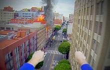 Superman avec une GoPro : la vidéo d'un quotidien héroïque