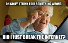 Et si Internet disparaissait, qu'est-ce que tu ferais?