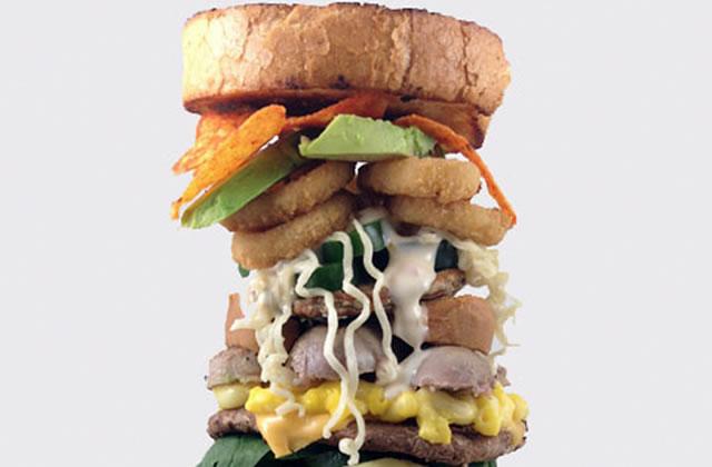 Le burger alphabet : un ingrédient pour chaque lettre