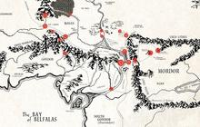 Une carte interactive de la Terre du Milieu !