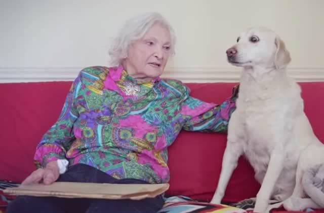 Une centenaire raconte son histoire d'amour avec son époux décédé