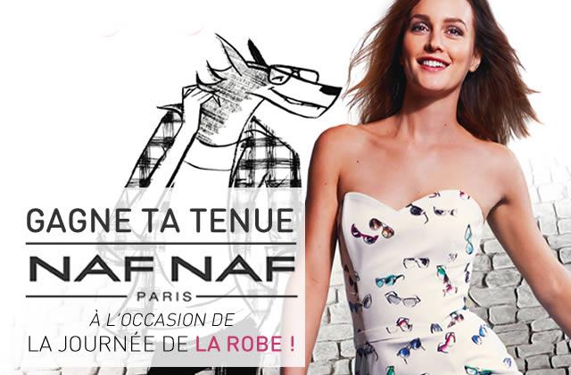 Un concours pour fêter la Journée de la Robe Naf Naf !