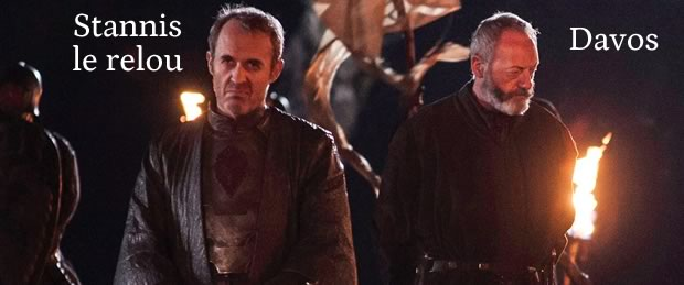 game of thrones saison 4 stannis davos