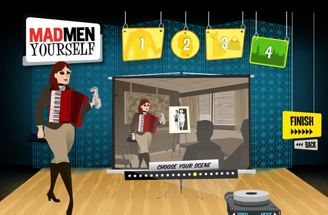 Mad Men Yourself te permet de créer ton avatar 60's !