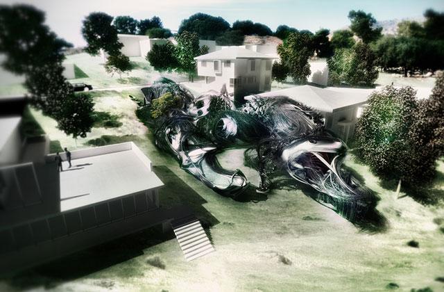 Les fantasmagoriques maisons du futur de Gonzalo V. Martínez