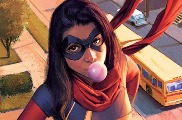 La nouvelle Ms Marvel est une jeune musulmane !