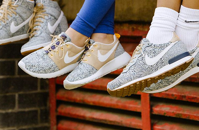 Nike et Liberty London lancent une nouvelle collection de