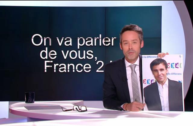 Le Petit Journal interpelle David Pujadas et Marine Le Pen