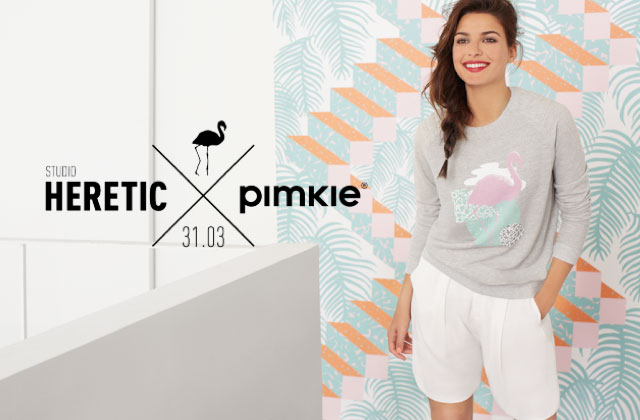 Pimkie lance une collection capsule avec Studio Heretic London