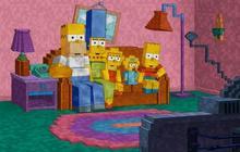 Les Simpson rendent hommage à Minecraft dans leur générique