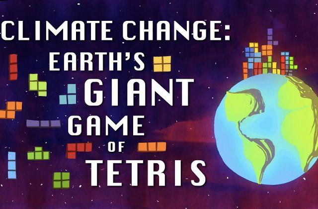 Le changement climatique expliqué par Tetris
