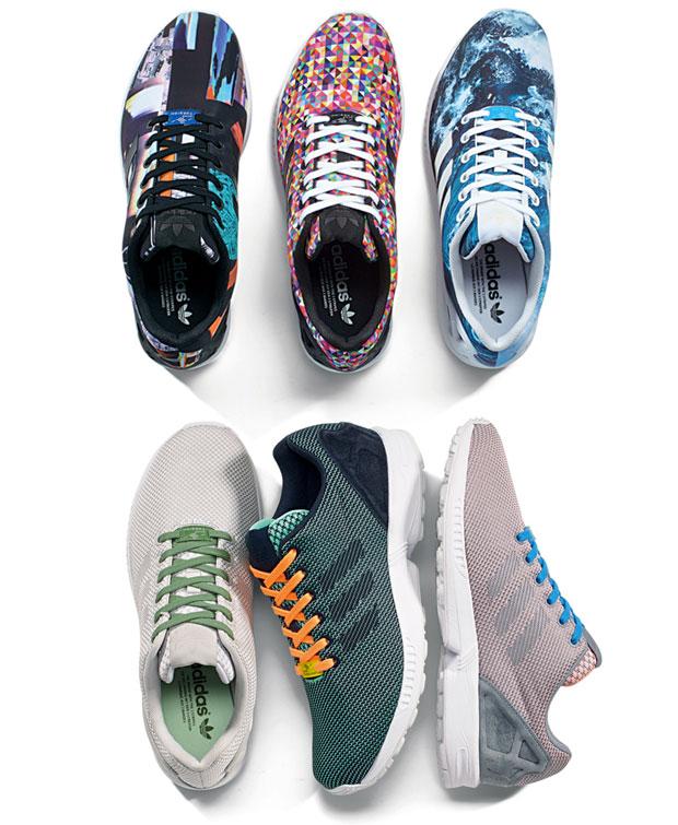 Adidas sort un nouveau modèle de baskets : la ZX Flux