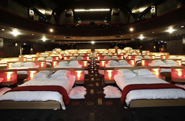 Un cinéma dortoir au BHV Marais !
