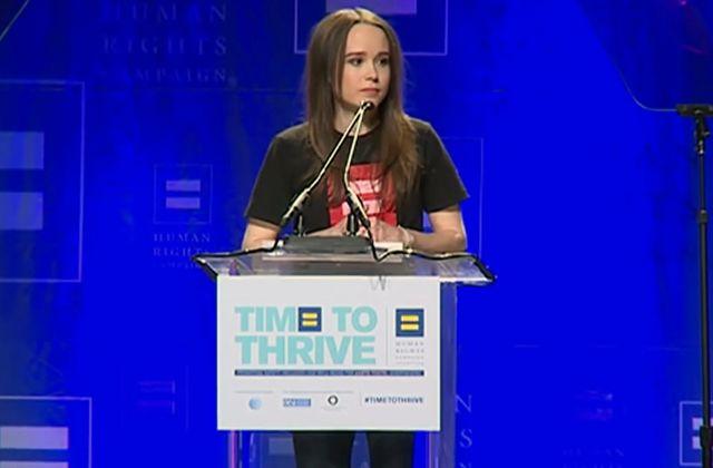 Ellen Page est heureuse depuis son coming-out