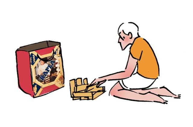 Emilio et ses potos – le dessin de Cy.