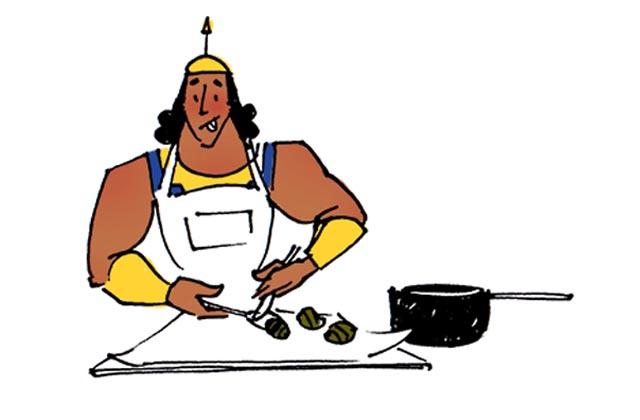 Les gougères aux épinards de Kronk (Kuzco) — Recettes Disney