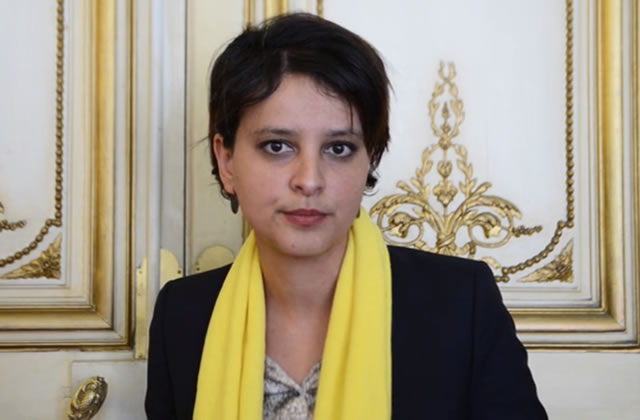 Najat Vallaud-Belkacem s'engage contre l'endométriose