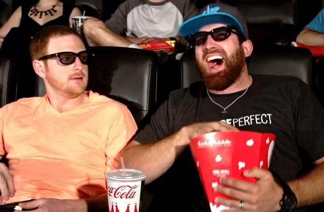Les relous de la salle de cinéma réunis dans une vidéo