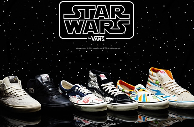 vans star wars homme