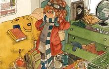 Boulet illustre un livre pour enfants
