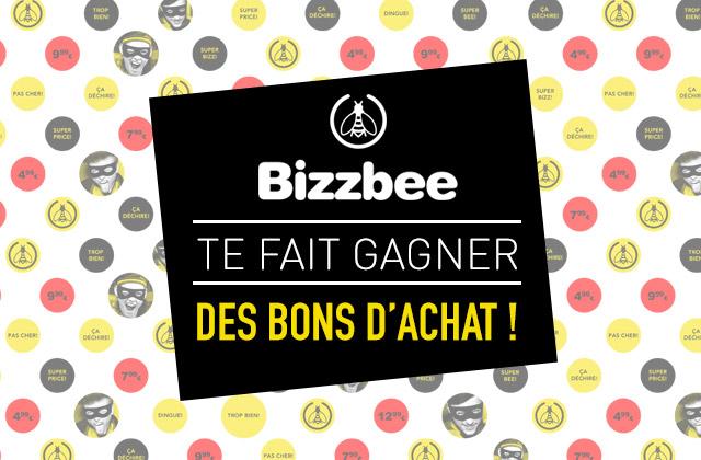 Concours Bizzbee — Des bons d'achat à gagner !