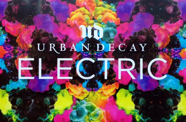Electric, la nouvelle palette fluo d'Urban Decay