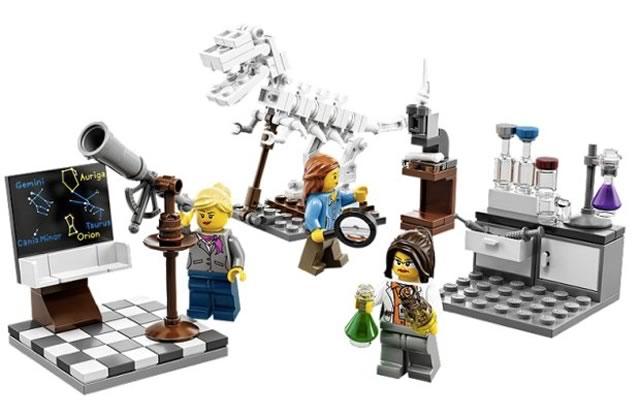 LEGO lance un nouveau set de femmes très cool !