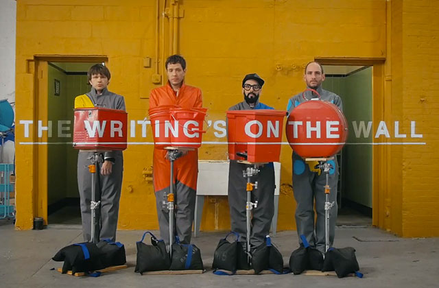 OK Go sort le clip de The Writing's on the Wall