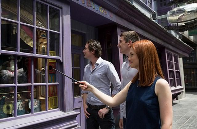 Le parc Harry Potter aura de vraies baguettes magiques !