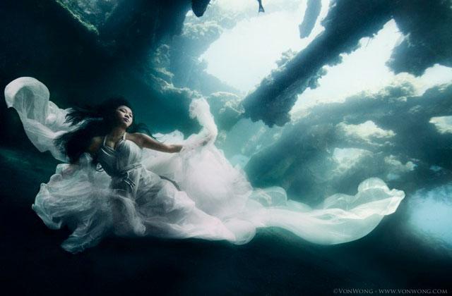 Les photographies sous-marines de Benjamin Von Wong