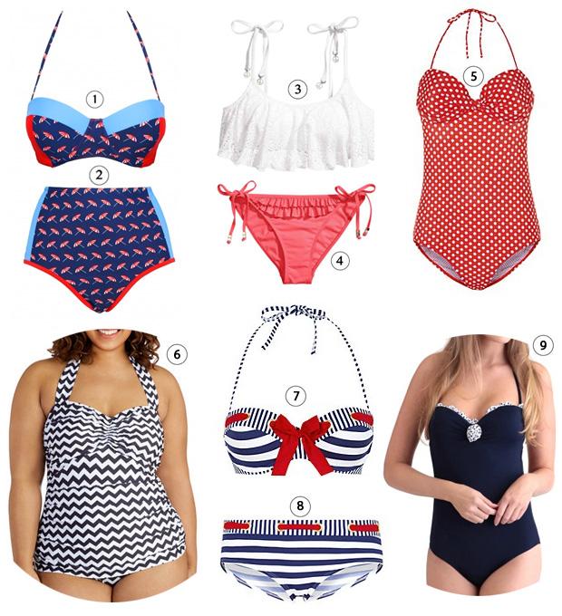 Sélection de maillots de bain à petits prix