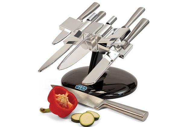 Le porte-couteaux Star Wars, pour une cuisine du côté obscur de la Force